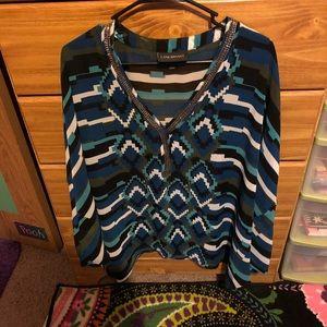 Lane Bryant bat wing blouse